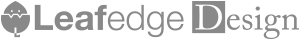 Leafedgeロゴ2